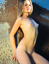 Gorgeous Becky in a fashion shoot gone wild. She strips naked and teases the photographer shamelessly.